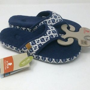 Acorn Terry Cloth Sandals